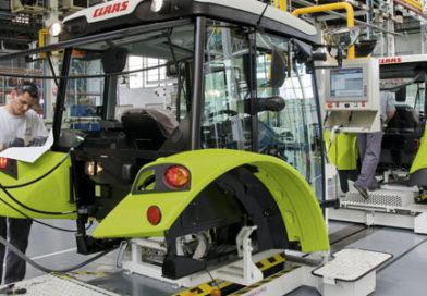 Jak powstają ciągniki CLAAS?